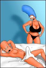 XXX Sleeping Bart Simpsons