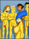 Marge In WILD sex Orgy