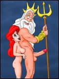 Naked Ariel and Triton