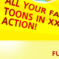 Fav Toons in XXX Action!
