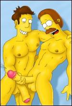 Simpsons Gay Toons