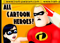 All Cartoon Heroes Porn Pics