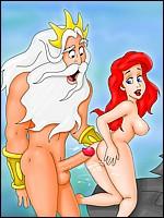 Sexy Ariel Fucked by Triton