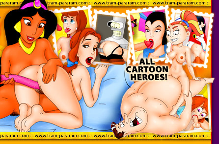 XXX Cartoon Heroes
