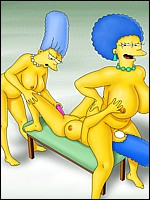 Marge Simpson In LesbianAction