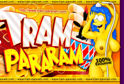 Marge Simpsons Tram-Pararam Cartoons
