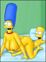 Marge and Bart Having Sex